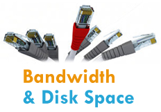 Bandwidth-and-Web Space