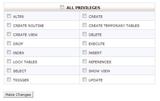 Assign Privileges